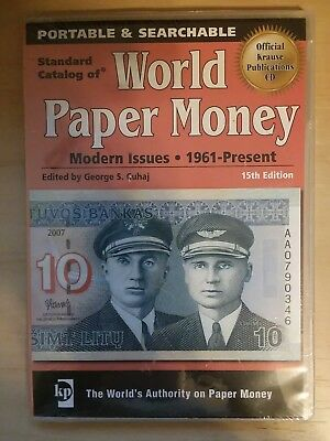 Standard Catalog of World Paper Money Modern Issues 1961-Present 15th Edition CD