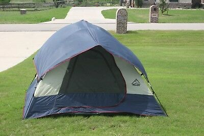 sears hillary sport dome tent 3 man person 6 x 8 nice and clean