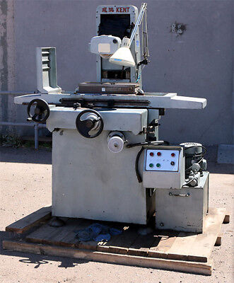 Kent Industrial Co. Ltd. Surface Grinder with 600-018 Magnetic Chuck