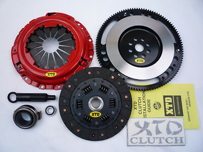 XTD STAGE 2 CLUTCH & 9LBS FLYWHEEL KIT FITS HONDA 1999-2000 CIVIC Si B16A2 DOHC