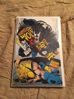 Marvel Comics Presents 117 Classic Venom Wolverine Cover Near Mint [marvel, 1992