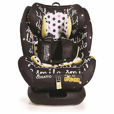 Cosatto All in All Group 0+1/2/3 Isofix Baby / Child / Kids Car Seat - Smile
