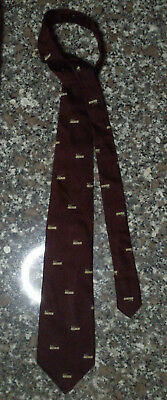CRAVATTA (TIE) GIANNI VERSACE + JEAN JAQUES BLISSET Made in Italy 100% Seta silk