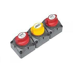 Bep Battery Distribution Cluster - Single Engine Two Battery Banks