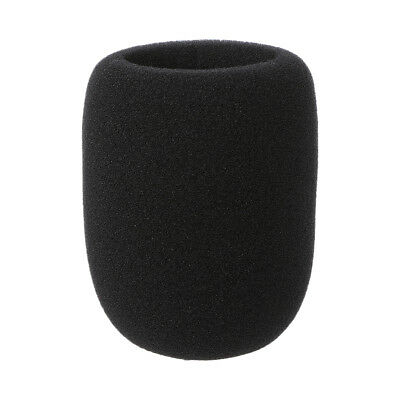 1Pc Microphone Windscreen Karaoke Wind Shield Pop Filter Mic Cover Foam Black