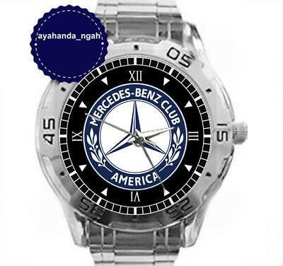New Custom Chrome Men S Wrist Watches Mercedes Benz Club Of America Men Watch