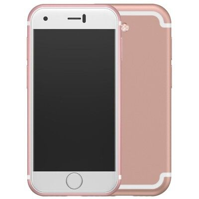 """2.54"""" Mini Unlocked Soyes 7S Android GSM Dual SIM Smartphone Quad Core Rose Gold"""