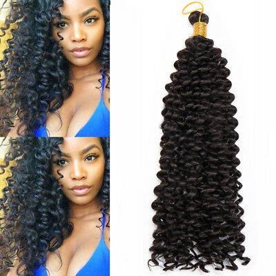 Real Natural Water Wave Crochet Braids Deep Curly For