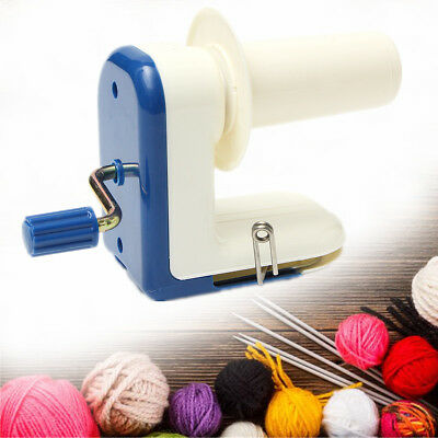 Hand Operated Winder Machine Portable Knitting Fiber Wool String Ball Yarn Tool