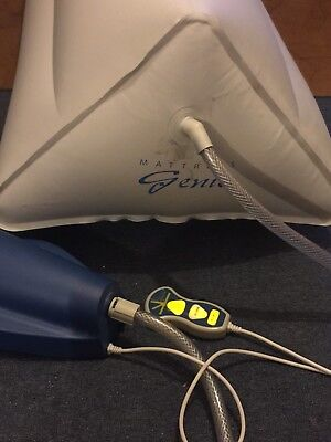 Mattress Genie Inflatable Bed Wedge Queen Size