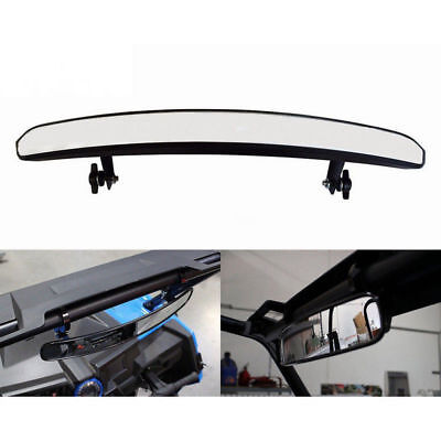 """UTV Wide Rear View Mirror with 1.75"""" Clamp For Polaris RZR800 1000 XP900 XP1000S"""