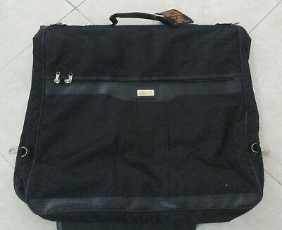 CLASSIC BLACK EXPANDER GARMENT BAG STRONGER THAN LEATHER brand new
