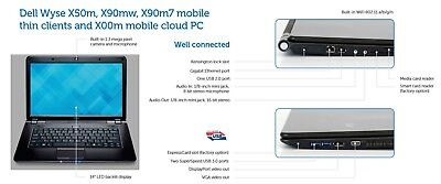 Dell Wyse X50m  2GF/2GR  14″ MOBILITY CLIENT