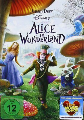 Alice im Wunderland - Johnny Depp - Disney  DVD/NEU/OVP