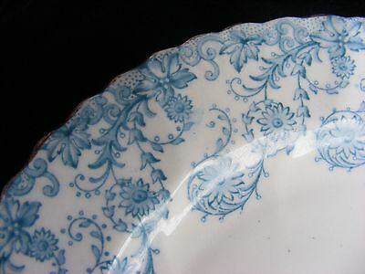Samuel Radford? Pretty Turquoise Blue, White and Gold 17.5cm Plate - See Photos