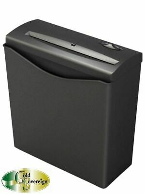 Gold Sovereign GS6S Strip Cut Personal Shredder 6 Sheets/Pass 2 Year Warranty
