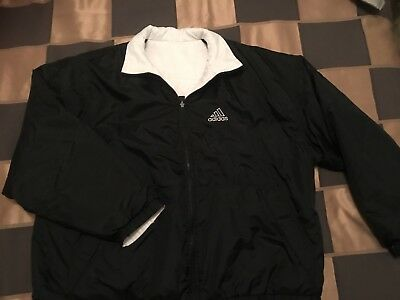 Unisex Adidas Winter Jacket Sz XL Double Sided Excellent Condition