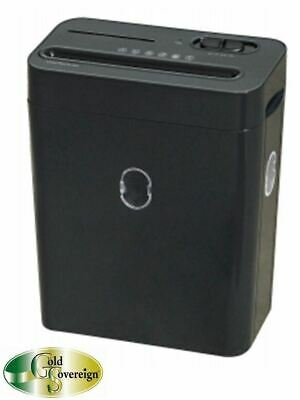 Gold Sovereign GS6CC Cross Cut Personal Shredder 6 Sheets/Pass 2 Year Warranty