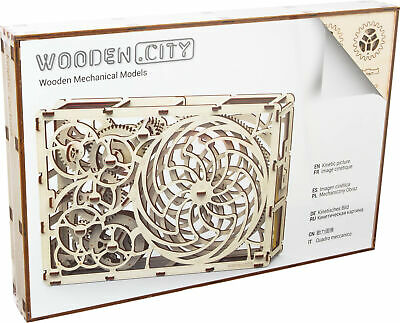 Woodencity: Kinetic Picture WR308, Holzbausatz