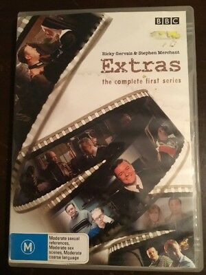 EXTRAS The Complete First Season 2 DVDs VGC R4