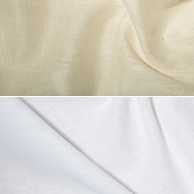 Indian Butter Muslin Fabric 100% Cotton 135cm Wide Cheesecloth