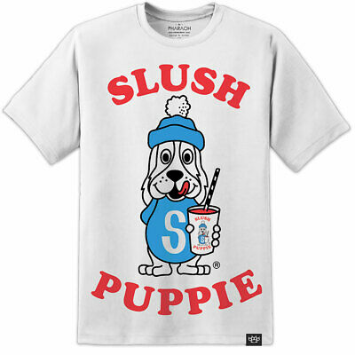 Mens Slush Puppy T Shirt Retro Vintage Classic Drink Summer Festival Tee Womens