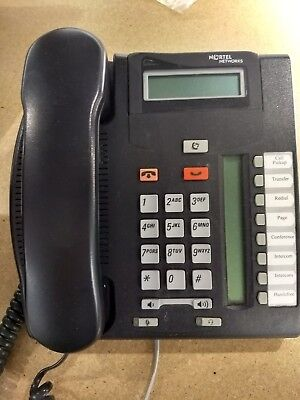Nortel Norstar BCM T7208 Charcoal Phone, Used, Guaranteed working.