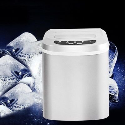 15kg Ice Cube Machine Maker Ice Cooling Commercial Bar Drinks Cocktail Table Top