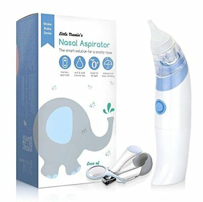 Baby Electric Nasal Aspirator Safe Fast Hygienic Automatic Snot Sucker
