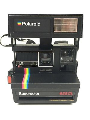 Polaroid 635 CL Supercolor Sofortbildkamera AVS14161 DB5