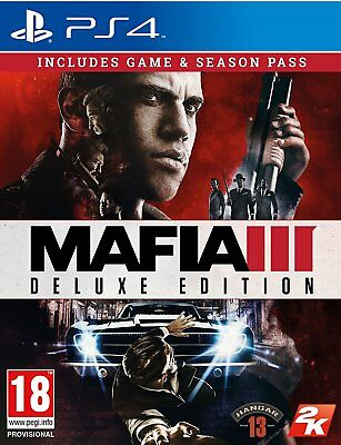 Mafia III Deluxe Edition (PS4)  BRAND NEW AND SEALED - IN STOCK - QUICK DISPATCH