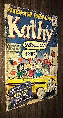 KATHY THE TEEN AGE TORNADO #7 -- October 1960 -- Marvel -- G Or Better