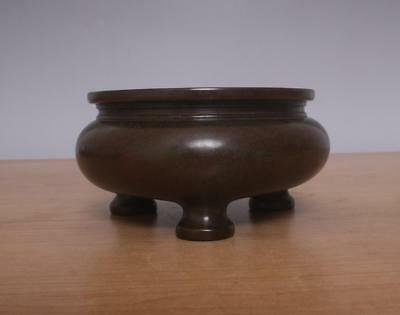Xuande Signed Antique Chinese Bronze or Copper Incense Burner