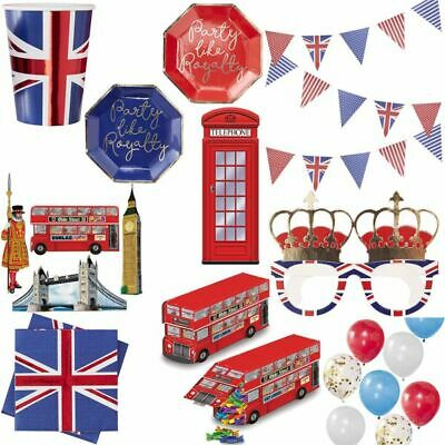 England Party Deko UK Großbritannien Dekoration London Set Union Jack GB Länder