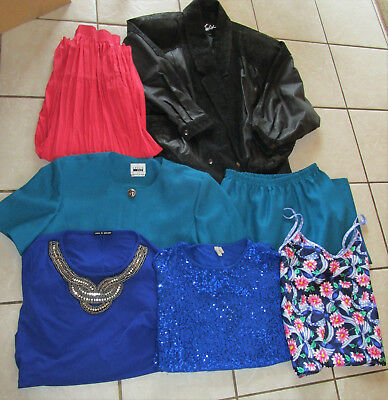 Lot of 15 Mixed Womens Brand Name Clothes Clothing Size 14 Large