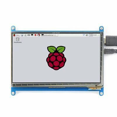 Waveshare 7 inch HDMI Raspberry Pi Display 1024x600 Touchscreen LCD AUqw