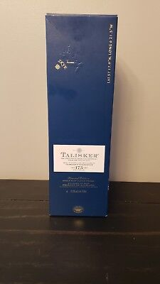 Talisker 175th Anniversary - Collectible - Discontinued - RARE Scotch Whisky