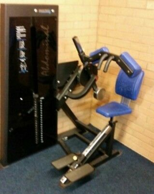 Pulse fitness commercial ab machine.