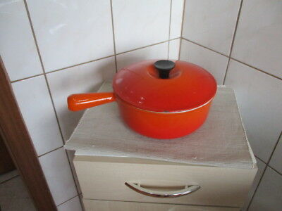 Le Creuset Gusseisen Kasserolle guter Zustand Made in France