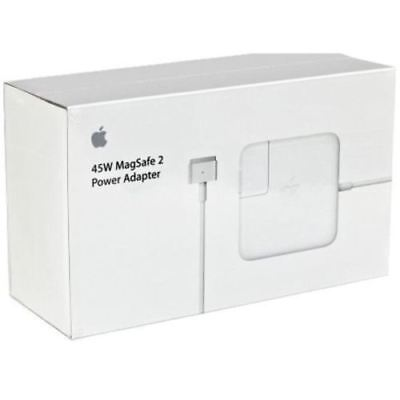 Genuine Apple 45W MagSafe 2 Power Adapter Charger A1465 A1435 A1502 A1466
