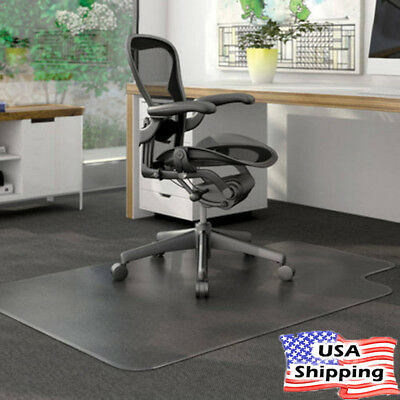 Office Home Desk Pvc Protector Clear Rolling Chair Floor Mat 48