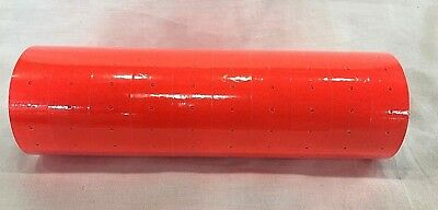 10 Rolls / 10000 Tags Orange labels for MX-5500 or Similar Sticky Price Guns
