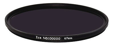 ICE 67mm Solar Eclipse ND100000 Filter ND 16.5 Stop  Optical Glass Ultra Dark 67