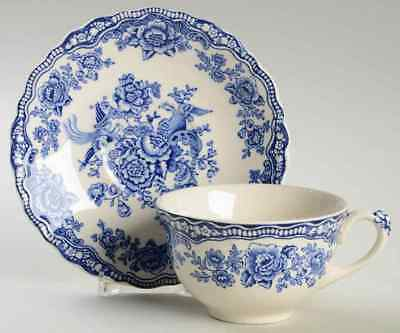 Crown Ducal BRISTOL BLUE Cup & Saucer 6795668