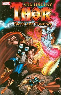 THOR Blood And Thunder TPB $35 Cover *NM* Jim Starlin Warlock Silver Surfer