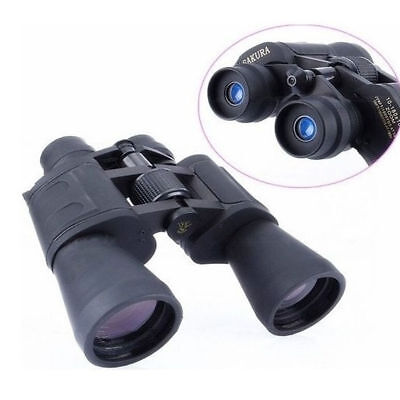 10-180X100 HD Wide-angle Telescope Binoculars Zoom Day Night Vision Travel Hunt