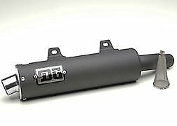 Yamaha Raptor 660R RCM II (Black) Slip-On Exhaust; 051-4150