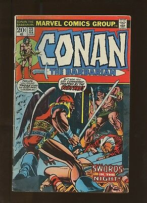 Conan the Barbarian 23 GD/VG 3.0 * 1 Book * 1st Red Sonja! Barry Windsor-Smith!
