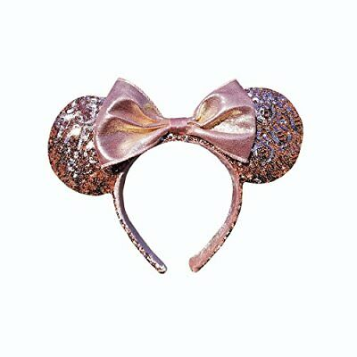 NEW Minnie Mouse Ears Rose Gold Walt Disney World Authentic Merchandise