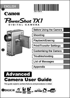 canon a1100is manual